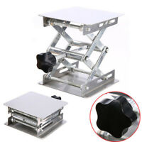 Aluminum Oxide Lab Stand Scissor Lift Lifting Platform Laboratory Jack Table