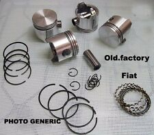 FIAT 1500 118 H/K  piston/rings set 77 + .60 (77.6 mm) NEW RECENTLY MADE