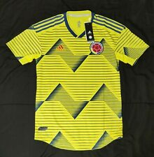 Adidas 2019 Colombia Home Authentic Soccer Jersey Retail $130 Dn6620 Size S