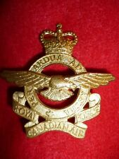 RCAF - Royal Canadian Air Force QC Cap Badge, Q128