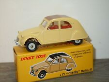 Citroen 2CV - Dinky Toys Atlas 558 in Box *34432