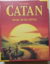 Catan 5th Edition The Settlers of Catan - Core Set Family game- NEW-