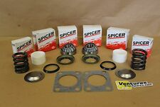 KING PIN BEARING SEAL REBUILD KIT BUSHING SPRING FORD DANA 60 DANA SPICER