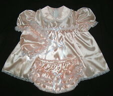Adult Sissy Satin Lacy Baby Dress Set ST07 L