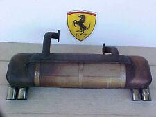 Ferrari 308 Engine Exhaust Muffler Silencer_Chrome Tips 114683 part number OEM