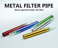 Mini Metal Filter Tobacco Smoking Pipes Herb Pipe Tool Cigarette Holder