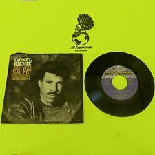 "Lionel Richie say you say me - 45 Record Vinyl Album 7"" 45 Record Vinyl Album 7"""