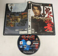 PS2 PlayStation 2 Onimusha Warlords Video Game (PreOwned Cleaned) Black Label