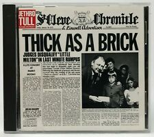 Thick as a Brick [Single] by Jethro Tull (CD, 1985, Chrysalis)