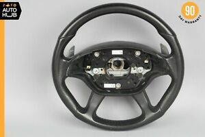 07-10 Mercedes W216 CL63 S63 S65 AMG Sport Steering Wheel w/ Paddle Shifters OEM