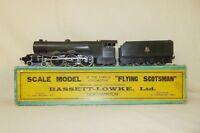 Bassett-Lowke 0 Gauge Flying Scotsman Electric Locomotive & Tender In Orig. Box