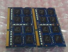 8GB 2X4GB DDR3 2Rx8 PC3L-12800S Laptop RAM MEMORY DELL APPLE HP LENOVO