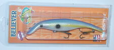 "6"" Believer Straight Drifter Tackle Musky Pike Crankbait Blue Back Shad 600S-33"