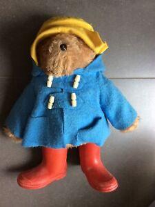 """Vintage Paddington Bear Stuffed Animal 19"""""""