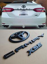 2018 - 2020 Toyota Camry Xse Black Out Emblem Overlay Kit (00016-32094)