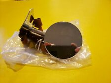 FORD MODEL A 1928- 31 SPARE TIRE SIDE MOUNT MIRROR LEATHER STRAP STAINLESS HEAD