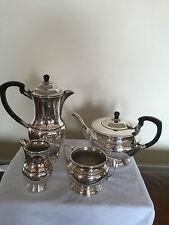BEAUTIFUL 4 PIECE SILVER PLATED TEA /COFFEE SERVICE  (REF 722) GARRARD & CO