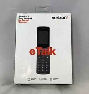 Verizon Wireless Prepaid eTalk Kazuna 4GB Memory Flip Phone Takumi 4G SEALED