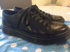 Ladies Dr Marten Dante Size 5 Trendy Trainer School Black Flat Doc Martens