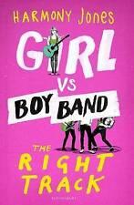 Girl vs. Boy Band: The Right Track, Jones, Harmony, New Book
