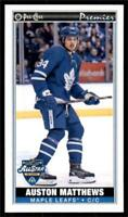 2020-21 O-Pee-Chee OPC Mini Tallboys All-Star SSP's #P-50 Auston Matthews