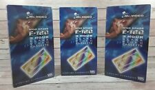 More details for mr video e-180 vhs blank video tapes x 3 high grade new sealed