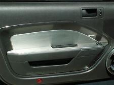 271003 - Mustang Door Panel Inserts Brushed Door 2pc V6 & GT 2005-2009