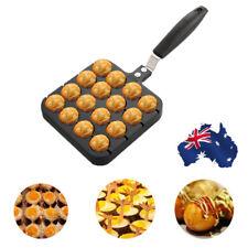 16 Holes Takoyaki Grill Pan Octopus Ball QQ Egg Plate Home Cooking Baking Tools