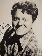 Vtg Signed Autographed Studio Portrait Hollywood Movie Tv Michael O'Shea 7 x 5