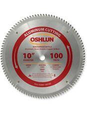 "OSHLUN  SBNF-100100  10"" x 100T Aluminum Cutting Saw Blade"