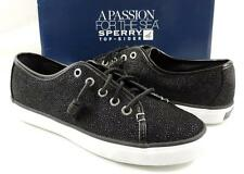 Women's Shoes Sperry Top Sider Seacoast Fashion Sneakers Cavier Black Size 7