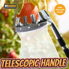 More details for deluxe lightweight telescopic extending apple & fruit picker twist and lock pick
