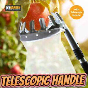 Deluxe Lightweight Telescopic Extending Apple & Fruit Picker Twist and Lock Pick