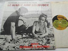 DONALD LAUTREC /MICHELE TORR Le Diable Aime Les Bijoux CANADA 1969 OST QUEBEC LP