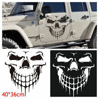 "Hood Decal Vinyl Sticker Skull Auto Car Tailgate Window 16"" Reflective Car Truck"