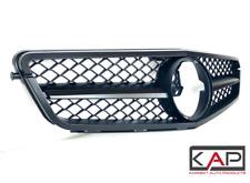 AMG Style Front Grille Fits: Mercedes C-Class 2007-14 C204 W204 S204 Matt Black