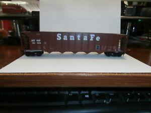 UNKNOWN MAKE HO SCALE 5-BAY HOPPER CAR-SANTA FE-85852