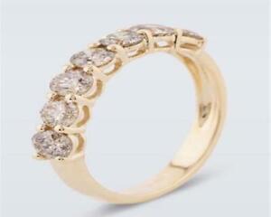 Harry Ivens IV Ring GG 585 Brillanten champagnerfarben 1,00 ct.