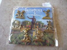Pin Trading Disney Pins Lot of 6 New Disney World Passholder Collection Statue
