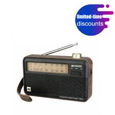 Retekess TR614 Portable Radio FM/MW/SW Retro Rechargeable Wood Grain for Gift DE