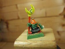Classic metal Warhammer Night Goblin Banner portador Pintado (2817)