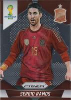 Sergio Ramos 2014 Panini Prizm World Cup Soccer  #172