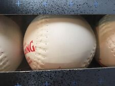 Spalding Tournament Plus Softballs 3-pack New in Box Made in Usa Baseball