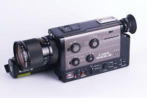 Canon 814XL-S Professional Super 8 Movie Camera