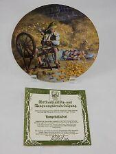Bradford Exchange Königszelt Bavaria Brothers Grim Rumpelstilzchen Plate