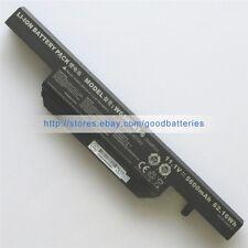 Genuine 5600mAh W650BAT-6 battery for Clevo W650RZ W650SR W650SZ W670SZQ W650SC