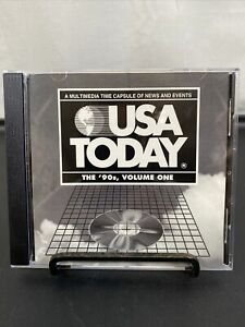 USA Today -  The '90s Volume 1 - CD ROM Multimedia Time Capsule Of News 1993
