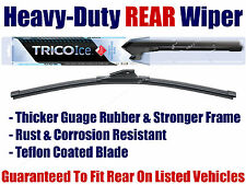 Rear Wiper Blade - Heavy Duty, Rust & Corrosion Resistant, Super-Premium 35-130
