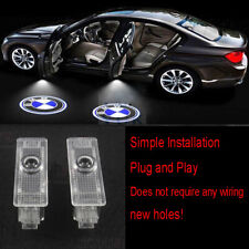 4pcs Car Door LED Light Logo Projector Easy Install Emblem Ghost Shadow For BMW