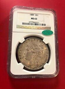 1889 Morgan Silver Dollar NGC MS63 CAC
